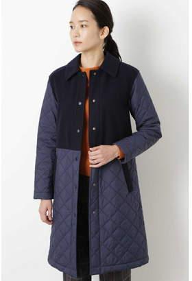 Human Woman (ヒューマン ウーマン) - HUMAN WOMAN キルティングコート ヒューマン ウーマン コート/ジャケット