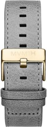 MVMT Mens Classic Series24mm Light Grey Leather