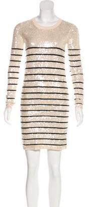 Markus Lupfer Sequin Mini Dress