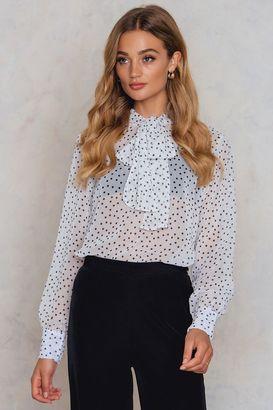 Rut & Circle Janike knot blouse