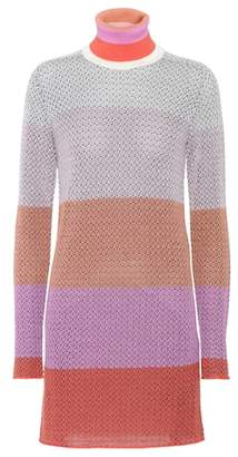 Missoni Knitted wool-blend minidress