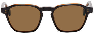 Raen Black and Tan Aren Sunglasses