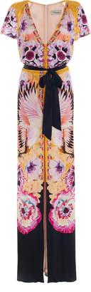 Temperley London Giselle Printed Crepe Maxi Dress