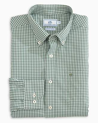Southern Tide Wintertime Gingham Intercoastal Performance Shirt