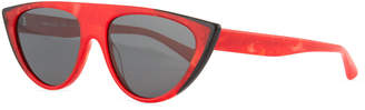 Cat Eye Alain Mikli Miss J Geometric Cat-Eye Acetate Sunglasses