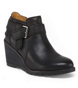Comfort Leather Ankle Booties
