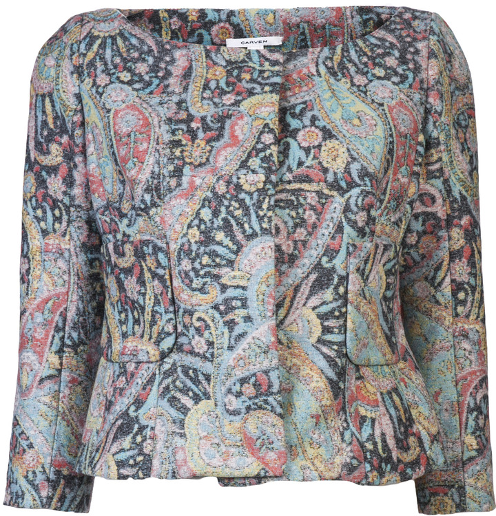 Carven Jacquard Jacket