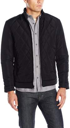 Ungaro Emanuel by Men's Urban Tech Diamond Quilted Jacket
