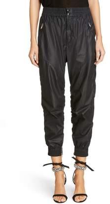 Isabel Marant Coated Crop Jogger Pants