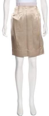 Lanvin Appliqué Floral Midi Skirt