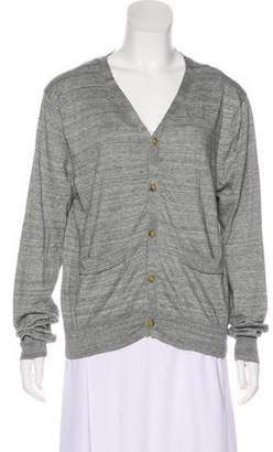 Opening Ceremony V-Neck Button-Up Cardigan