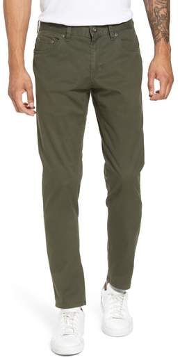 Textured Stretch Cotton Pants