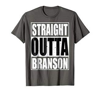 Cool Straight Outta Branson Novelty T-shirt