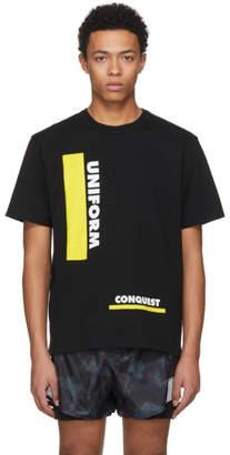 Sacai Black Uniform Conquest T-Shirt