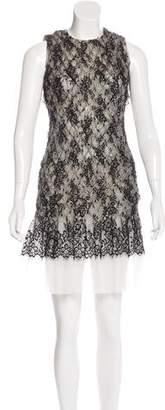 Hussein Chalayan Huishan Zhang Textured Lace Dress
