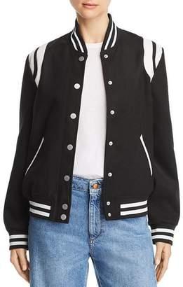 Aqua Collegiate Varsity Jacket - 100% Exclusive