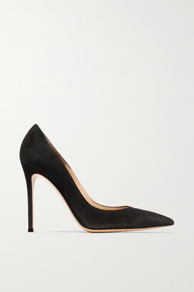 Gianvito Rossi 105 Suede Pumps - Black