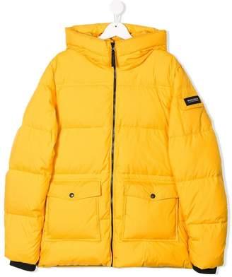 Woolrich Kids TEEN hooded padded coat