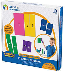 Learning Resources Double-Sided Magnetic Fracti on Squares