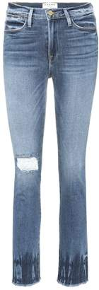 Frame Le High Street distressed jeans