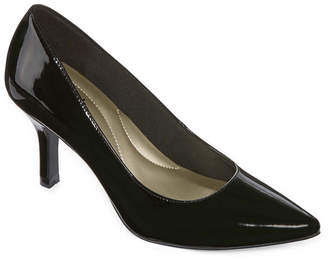 East Fifth east 5th Womens Debbie Pumps Pull-on Pointed Toe Spike Heel