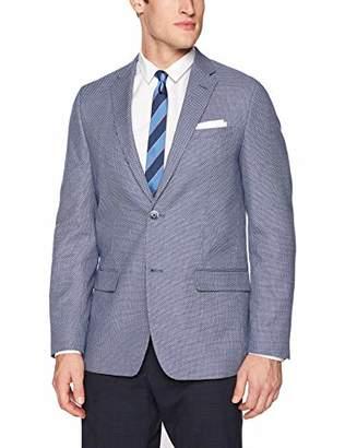 Ben Sherman Men's tick White Star Sport Coat