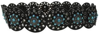 Nocona M&F Western Wide Concho Disk Belt Women's Belts