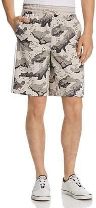 Puma Wild Pack AOP Camouflage-Print Drawstring Shorts