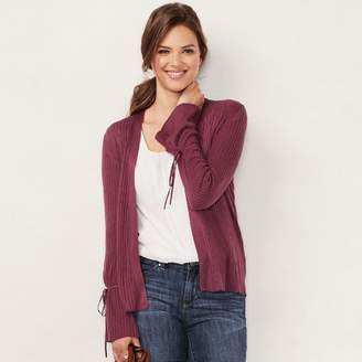 Lauren Conrad Women's Love, Lauren Ribbed Cardigan