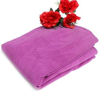 mtqsun Sun pink Lounger Beach Bath Towel Mate Buddy Bag Holiday Garden Lounge with Pockets