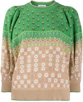 VIVETTA floral motif jumper