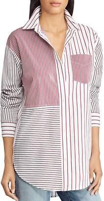Lauren Ralph Lauren Mixed-Stripe Shirt
