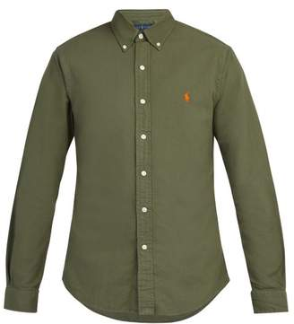Polo Ralph Lauren Slim Fit Cotton Shirt - Mens - Khaki
