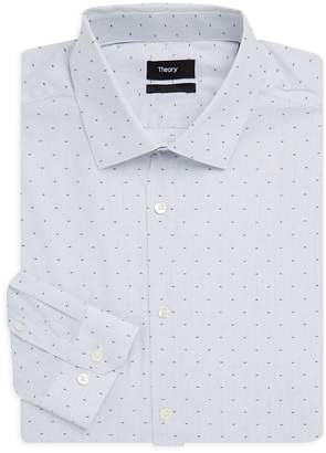 Theory Men's Dover Macko Cotton Slim-Fit Dress Shirt