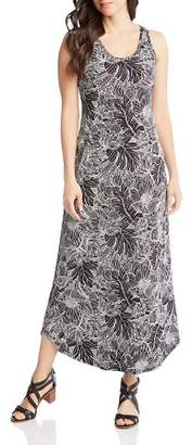 Karen Kane Floral Print Maxi Dress