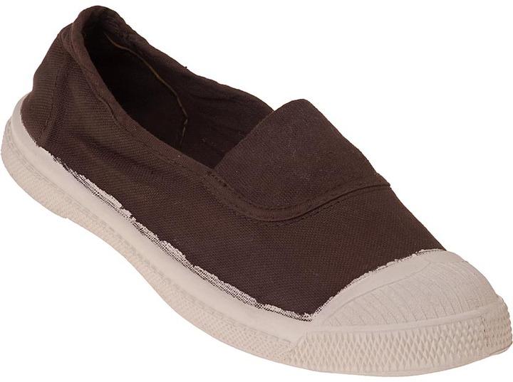 Bensimon Elastique Sneaker Brown Canvas