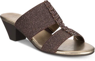 Karen Scott Zaila Slip-On Sandals, Created for Macy's Women's Shoes