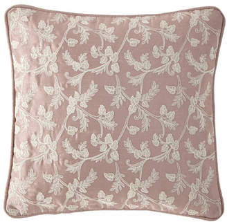 "Waterford Victoria Orchid Decorative Pillow, 14""Sq."
