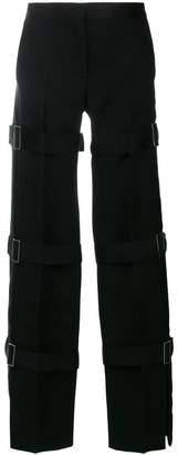 Alexander McQueen multi strap tuxedo trousers