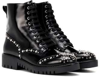 McQ Bess studded leather ankle boots