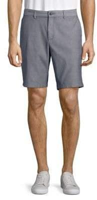 Black & Brown Black Brown Dobby Stretch Shorts