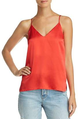 Anine Bing Gwyneth Silk Camisole Top
