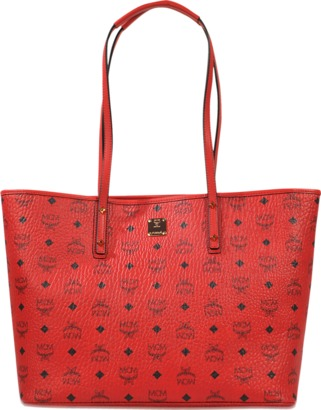 MCM Anya Top zip shopper $665 thestylecure.com