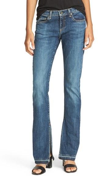 High Waist Bootcut Jeans - ShopStyle Australia