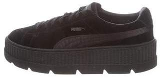2e92cb84034a Pre-Owned at TheRealReal · FENTY PUMA by Rihanna Suede Platform Sneakers