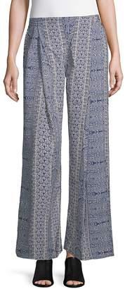 Raga Women's Milos Printed Wide-Leg Pants