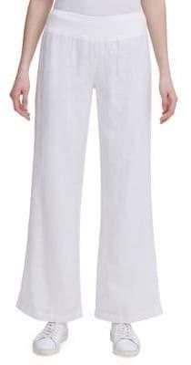 Calvin Klein Stretch Wide-Leg Pants