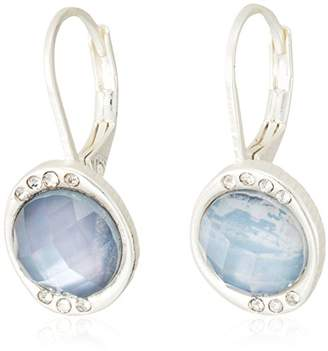 The Sak Women's Stone Pave Drop Earrings
