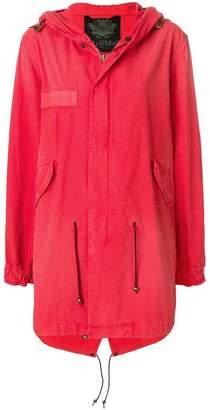 Mr & Mrs Italy tropical print parka coat