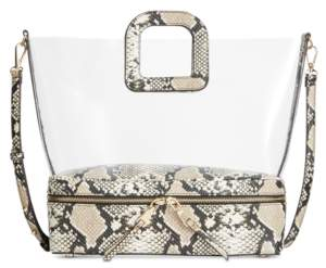 INC International Concepts I.n.c. Clear Tote, Created for Macy's